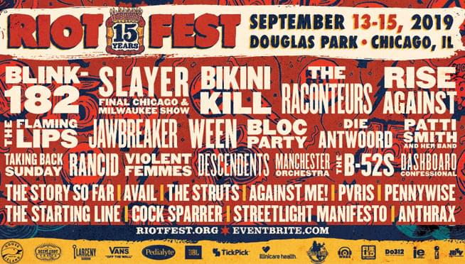 Top 10 Riot Fest Performances That You Totally Can Not Debate