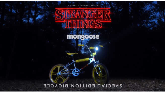 You can buy Max's 'Stranger Things' Mongoose Throwback Bike!