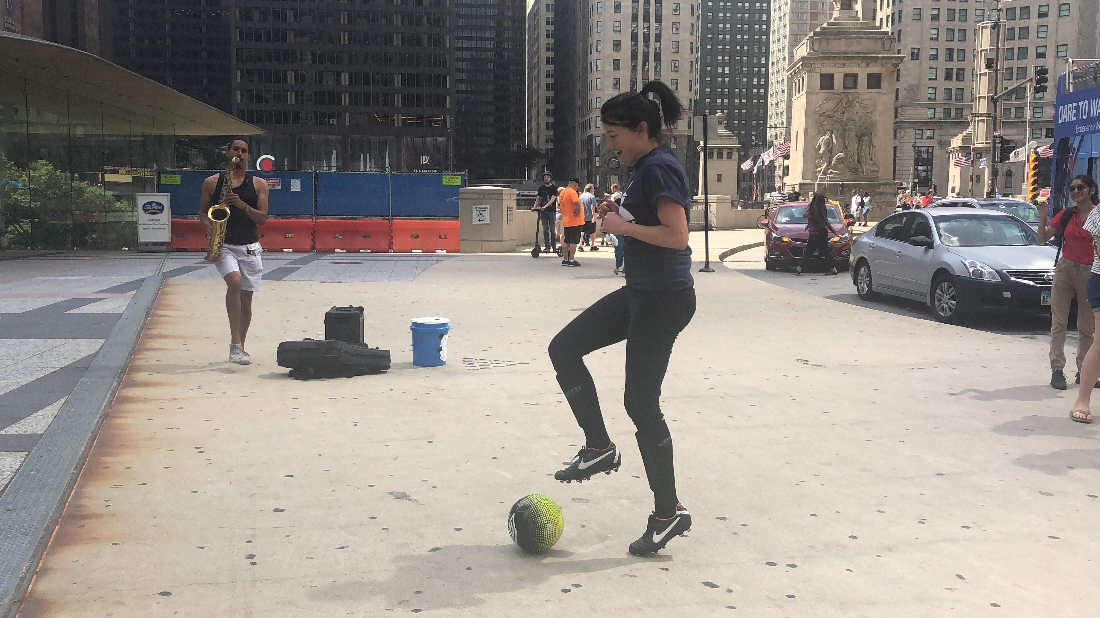 Woman's Soccer: England or America? In this case Ali verses in Chicago