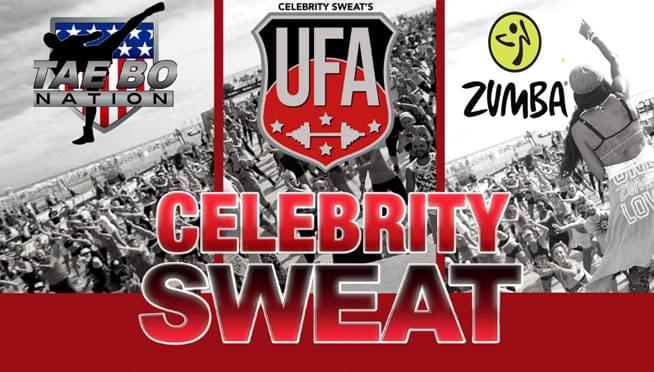 7/27/19 – Celebrity Sweat Wellness Take-Over