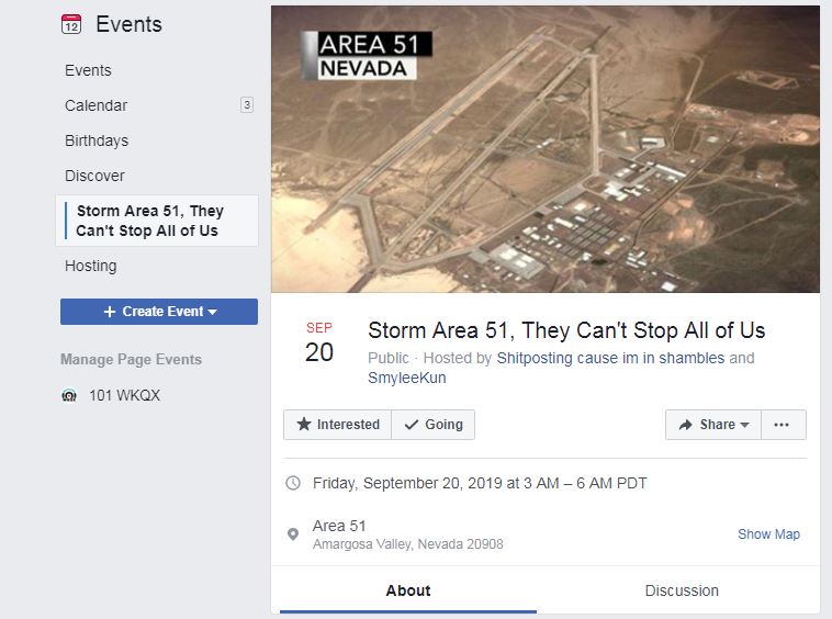The Area 51 Storm is Happening Now.
