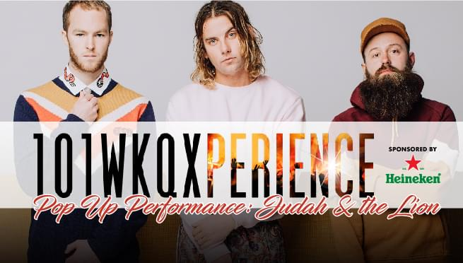 Pop Up Performance: Judah & the Lion