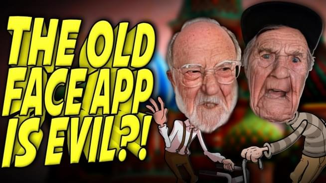 Privacy concerns with the photo aging FaceApp