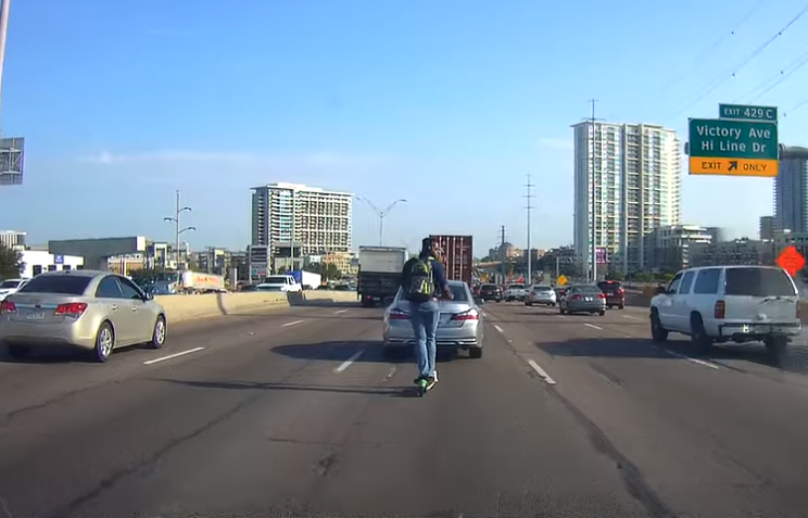 FYI: Electric scooters aren't made for the highway