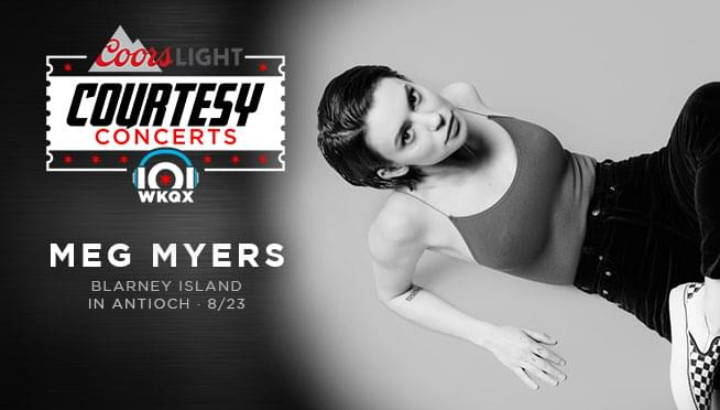 8/23/19 – 101WKQX Courtesy Concert with Meg Myers