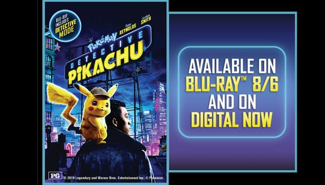 Win Pokémon Detective Pikachu Digital Downloads