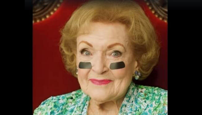 National treasure Betty White is ready for some football