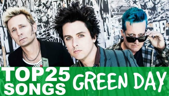 Top 25 Green Day songs that you can not debate at all