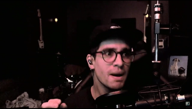 """Brendon Urie caught singing along to 80s hit """"Take On Me."""""""