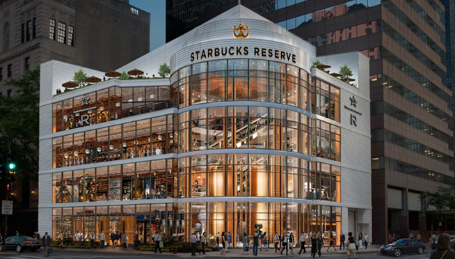 Gigundous Starbucks store sets opening date for Chicago
