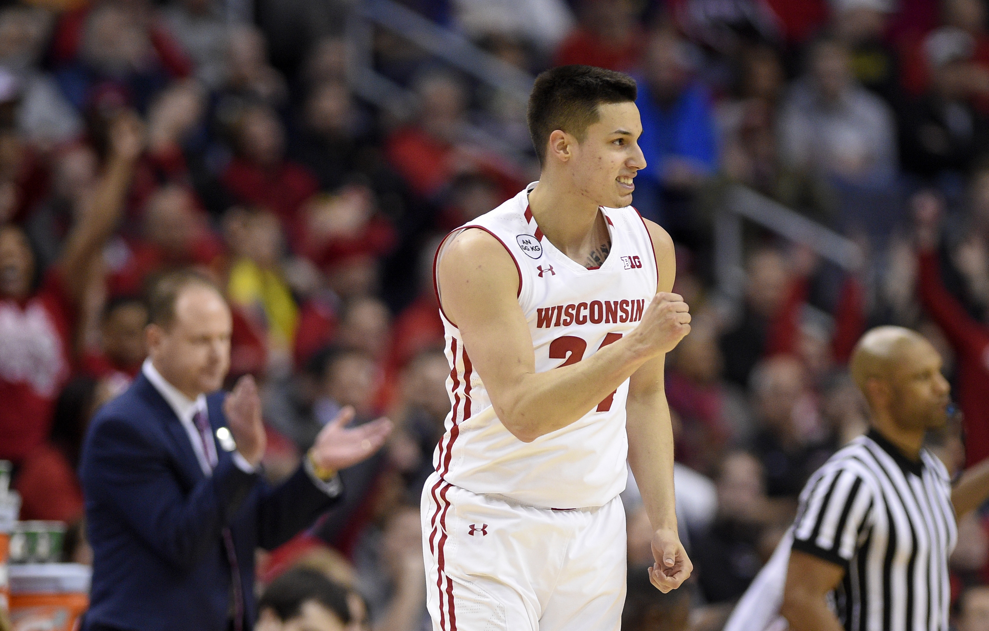 Bulls sign former Badger Bronson Koenig