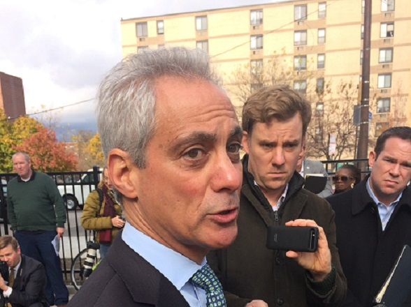 Rahm: FOP 'wrong' to defend Jon Burge