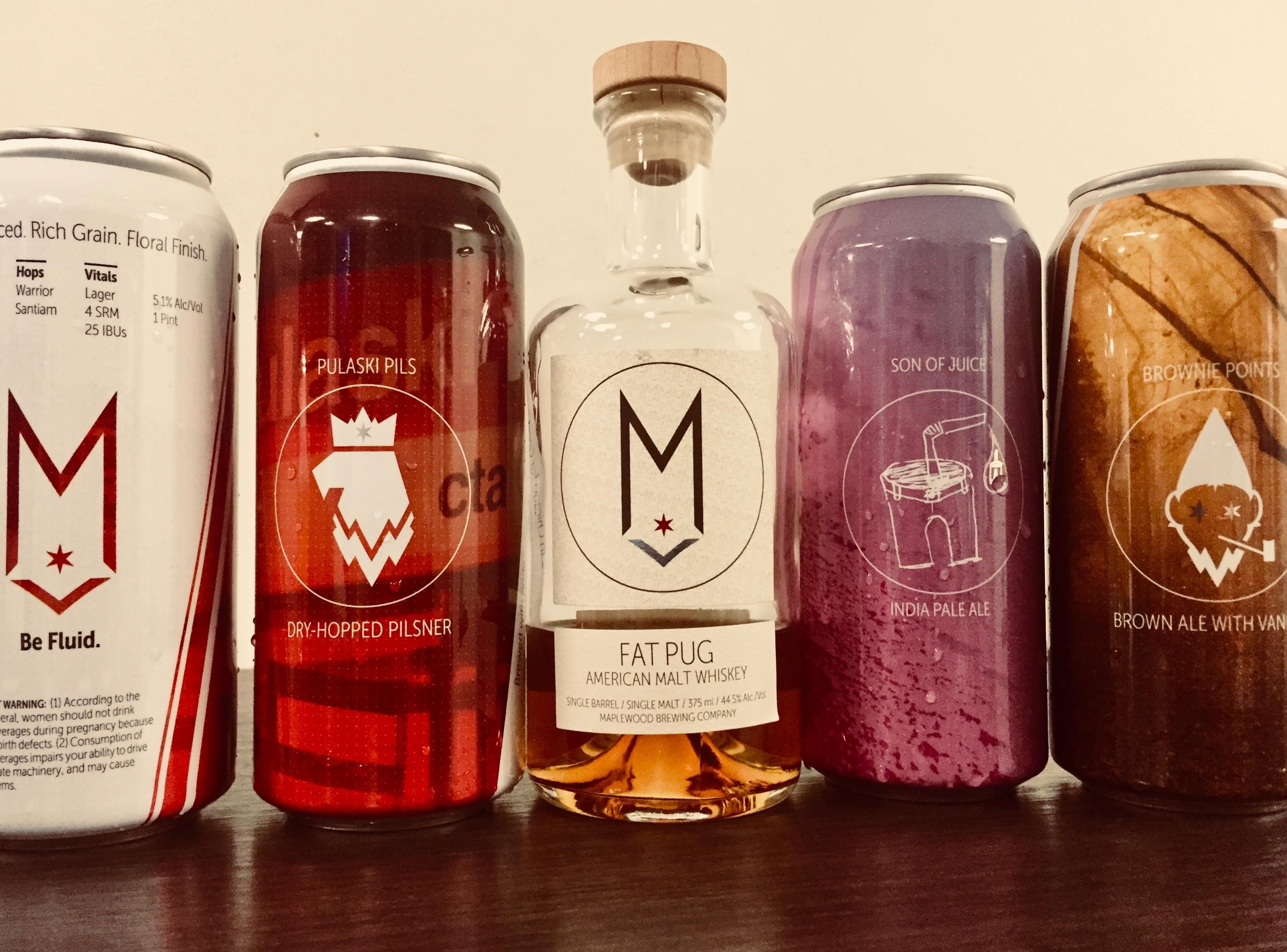 Foodie Friday – March 2, 2018 – Maplewood Brewery & Distillery