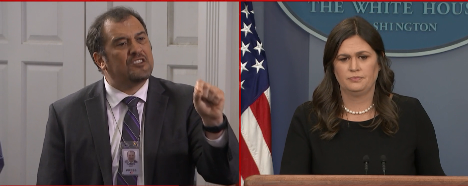 """Sarah Sanders says """"it is biblical to enforce the law"""""""