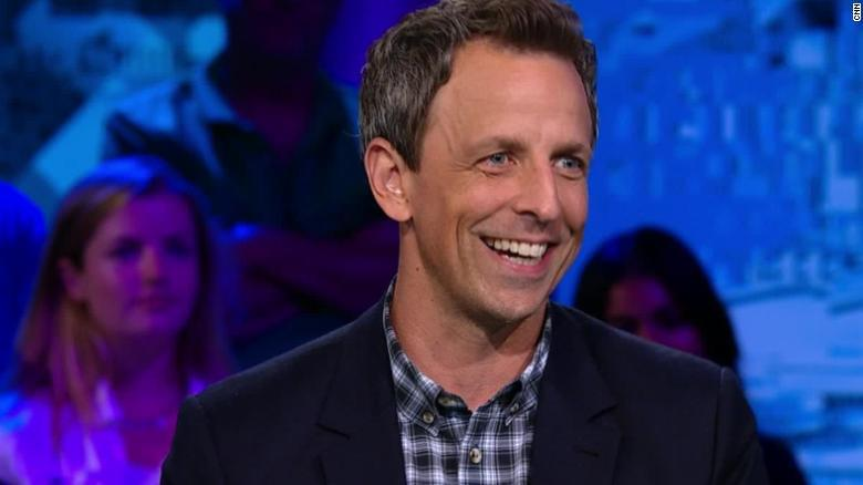Seth Meyers: If Trump stopped giving comedians material, they'd move on