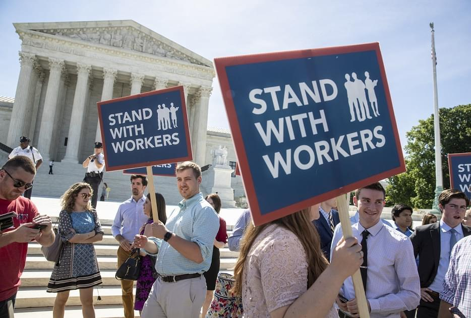 Public unions new reality after Supreme Court ruling with Janus' Attorney and Mark Mix