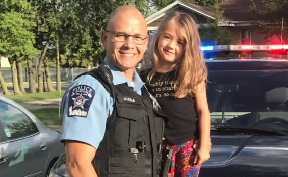 The officer who doesn't stop, even for cancer