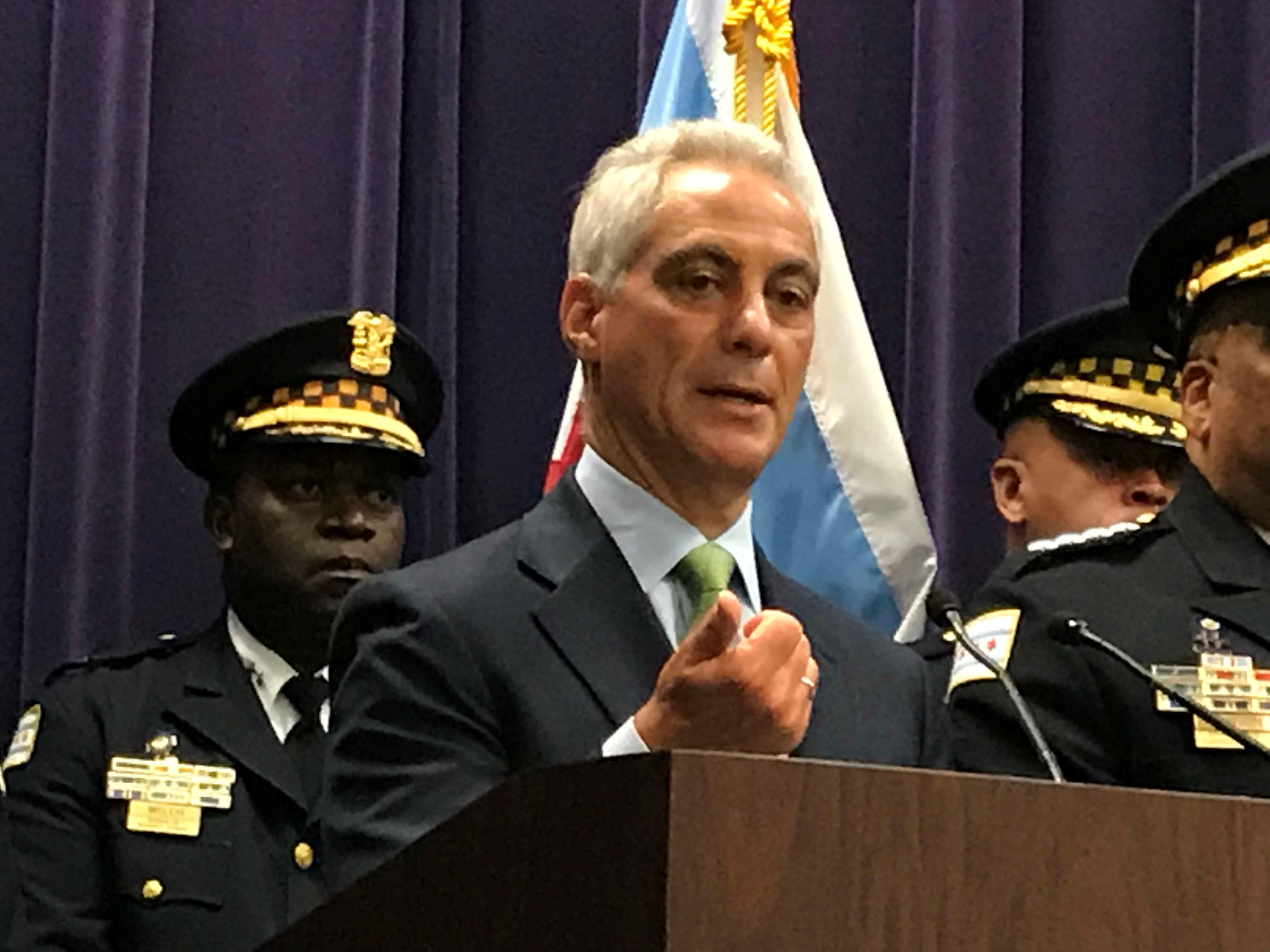 Police shooting: Emanuel not taking a position