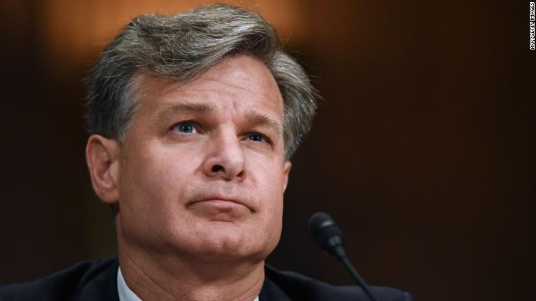 FBI director says Russia continues to interfere