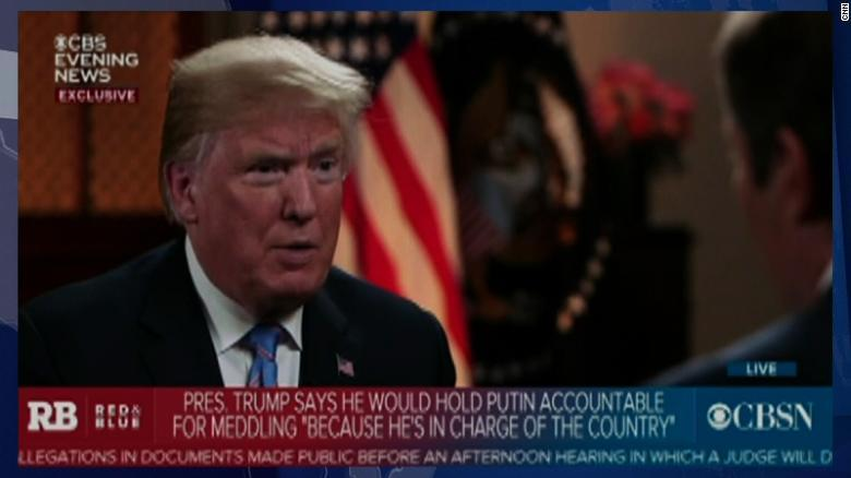 Trump: news media wants confrontation, even war, with Russia