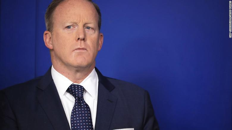 Does Spicer 'regret' defending Trump?