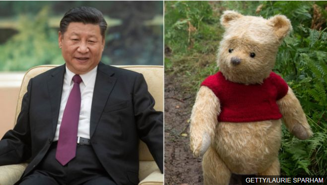 China bans Christopher Robin film after comparisons to President Xi