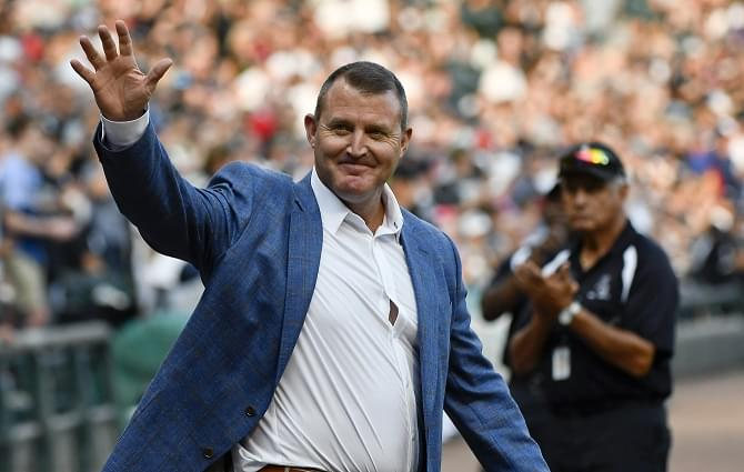 White Sox honor Hall of Famer Thome