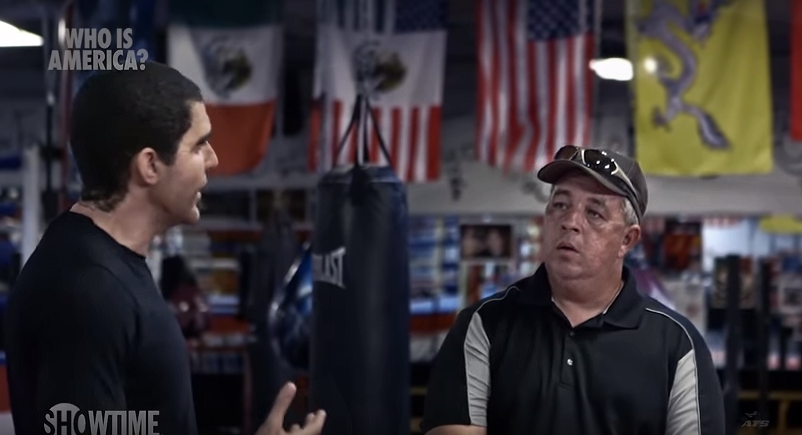 'Who Is America?': Sacha Baron Cohen pranks Pro-Gun Advocate with dildo