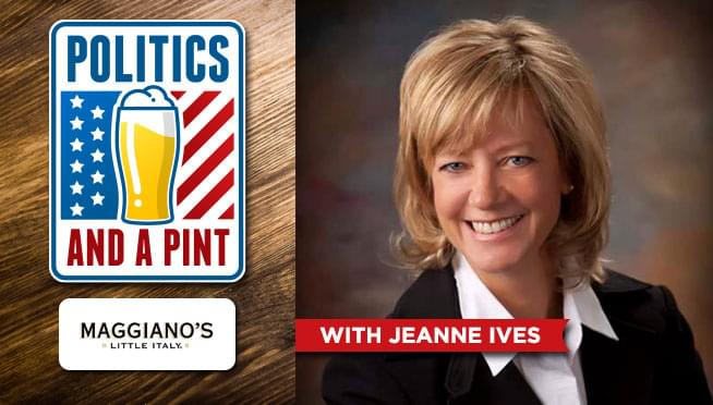 Politics And A Pint, with Jeanne Ives