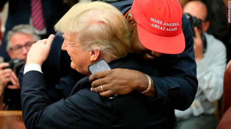 Kanye West delivers jaw-dropping performance in Oval Office