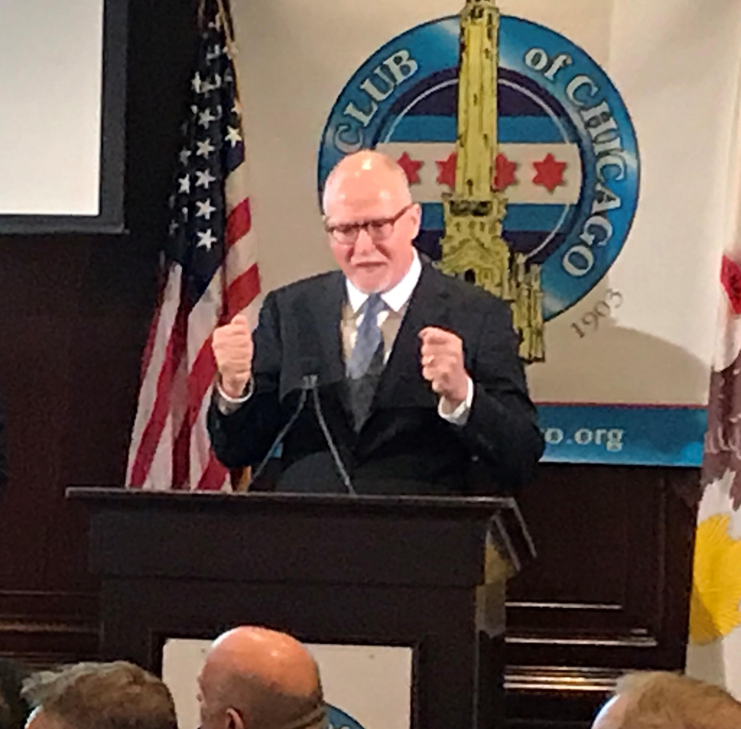 Vallas launches five year plan to stabilize city finances