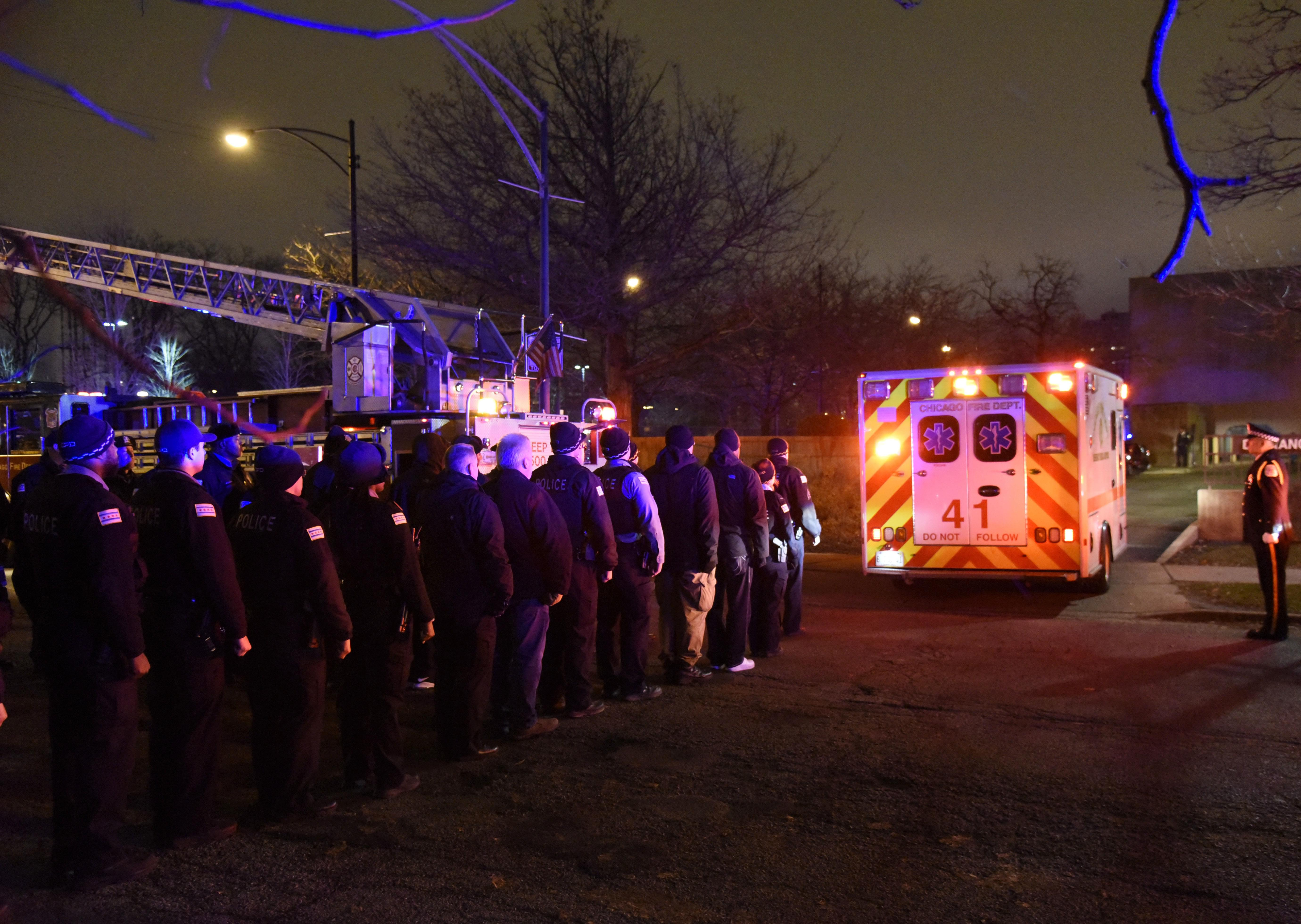 The latest: Argument at Chicago hospital erupts into deadly shooting
