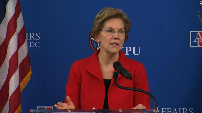 Warren: US in a crisis 'decades in the making'
