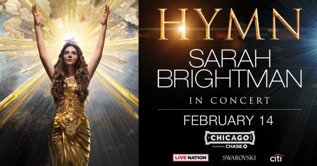 2/14/19 – SARAH BRIGHTMAN IN CONCERT