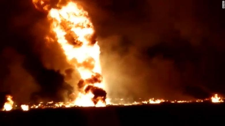 At least 67 people killed, dozens injured in Mexico gasoline pipeline explosion
