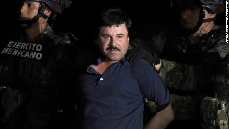 "Notorious drug lord Joaquin ""El Chapo"" Guzman convicted"
