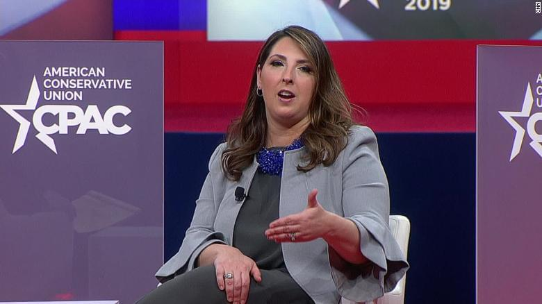 WATCH: RNC chief warns Republicans who challenge Trump in 2020