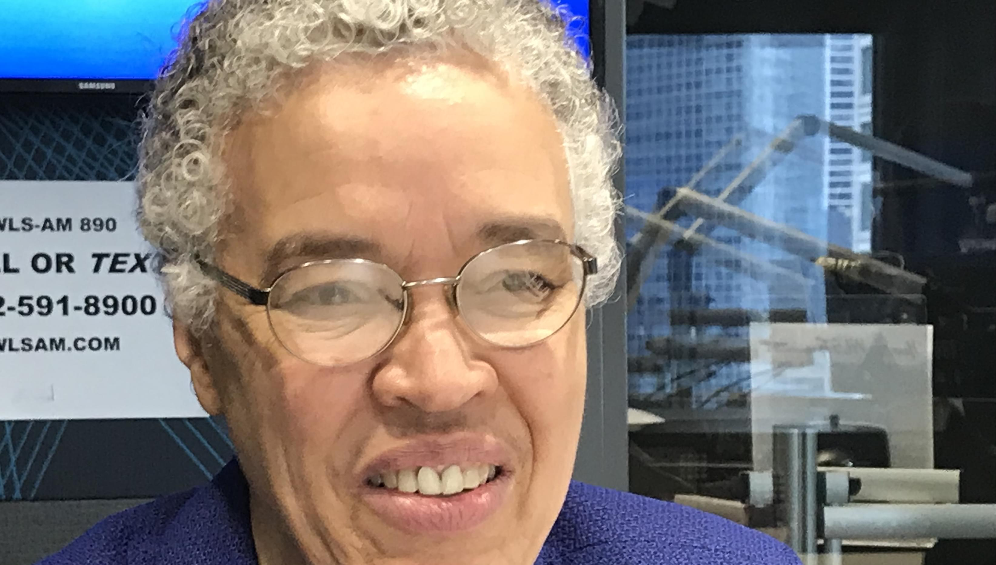 Preckwinkle says Chicago is NOT a world-class city
