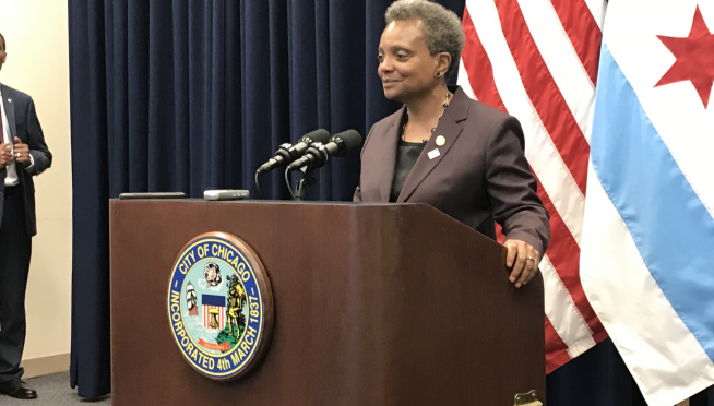 """Mayor Lightfoot """"not having"""" Ald Burke's attempt at Game of Thrones """"stunt"""" in City Council"""