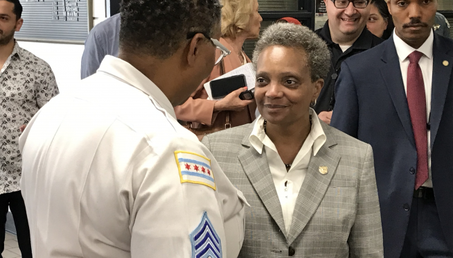 Mayor Lightfoot in her first battle with the press