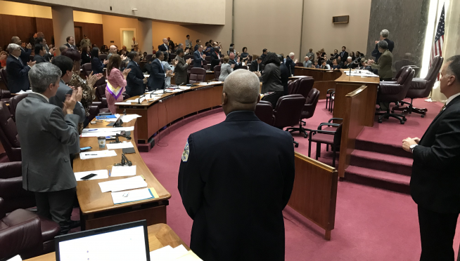 Mayor Lightfoot & FOP tangle at City Council