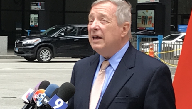 Trump to announce for re-election Tuesday & Durbin says Trump could win a second term