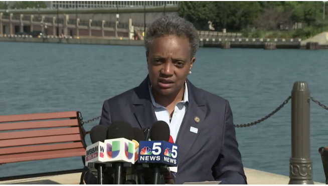 "Mayor Lightfoot orders a ""pause"" in the installation of water meters because of rising lead levels"