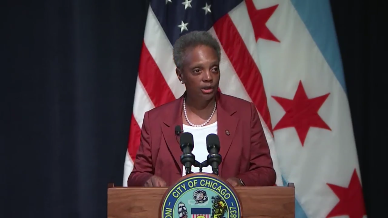 Mayor Lightfoot says 2020 city budget shortfall is $838 million