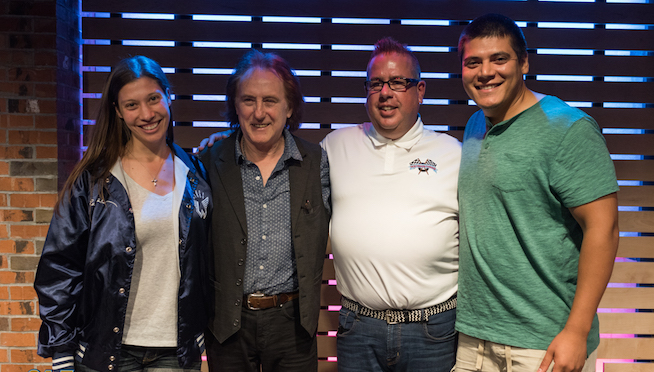 Pictures: Denny Laine in The Sound Lounge