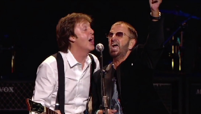 Released On DVD Today September 1st Is The Change Begins Within Concert Featuring Paul McCartney Ringo Starr Donovan Eddie Vedder And Sheryl Crow