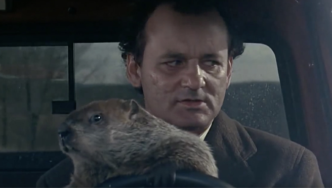 Woodstock, IL Celebrates Groundhog Day (The Holiday AND ...