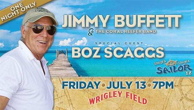 7/13/18 – Jimmy Buffett