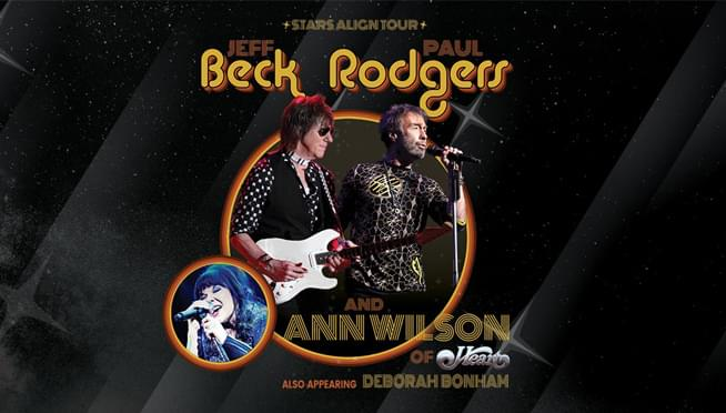 7/29/18 – Jeff Beck, Paul Rodgers and Ann Wilson