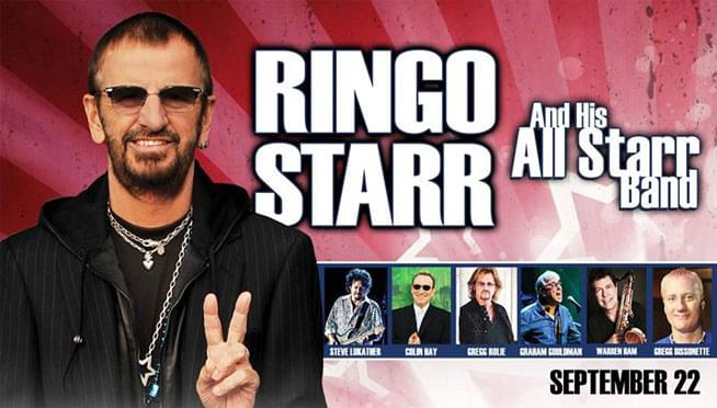 9/22/18 – Ringo Starr & His All-Starr Band
